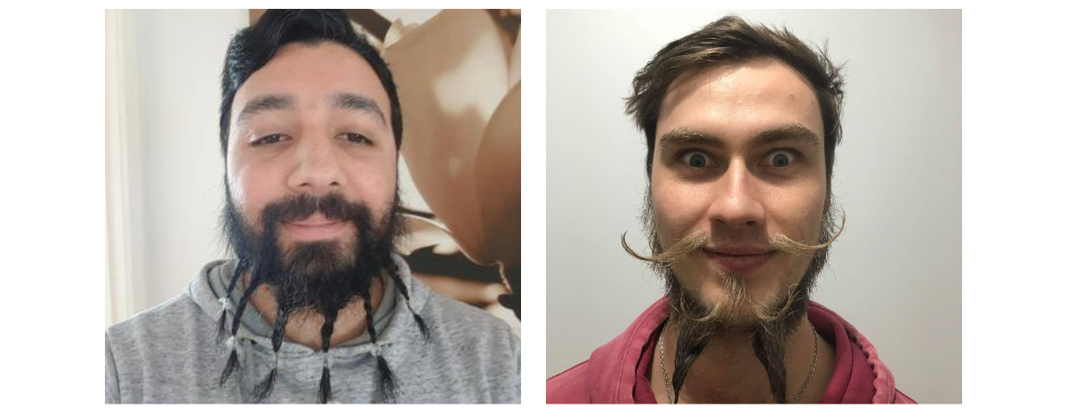 Adir Erulkar and Rhys Marlow Beards